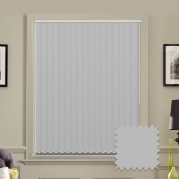 "Made to Measure Blackout 5"" Unishade Dove Vertical Blind"